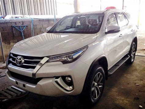 Toyota Fortuner Price In India New Toyota Fortuner 2016 India Launch Date Price In India