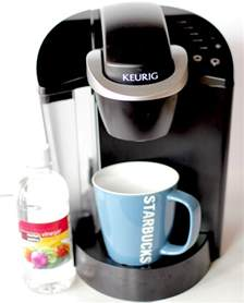 MOM Tip: How to Clean Your Keurig Coffee Maker with Vinegar   24/7 Moms