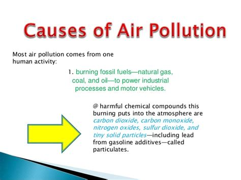 Causes And Effect Of Water Pollution Essay by Air Pollution Causes And Effects