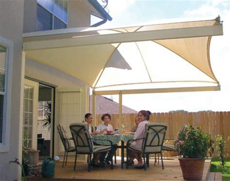 veranda sonnenschutz sonnensegel f 252 r terrasse einige attraktive vorschl 228 ge