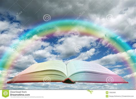 and the rainbow who stayed books book and rainbow stock photo image 13822990