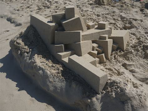 calvin seibert incredible modernist sand castles by calvin seibert