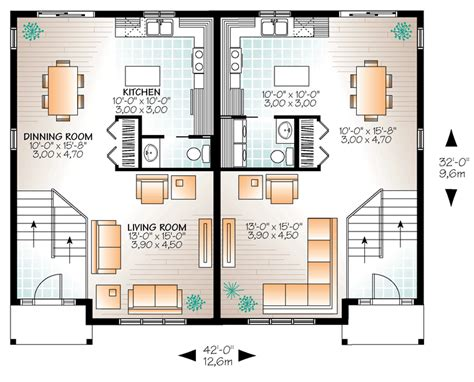multi family plan 76379 at familyhomeplans com multi family plan 76379 at familyhomeplans com