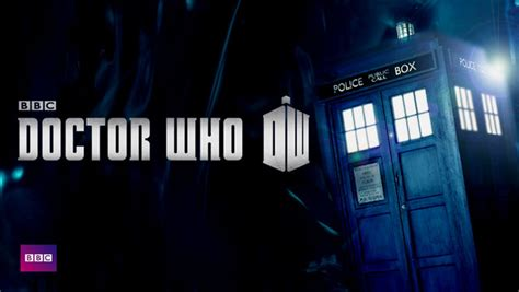 doctor who doctor who logo and tardis from the netflix web site