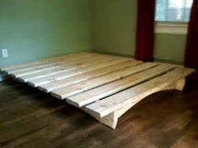Low Platform Bed Diy 25 Best Ideas About Diy Bed Frame On Bed