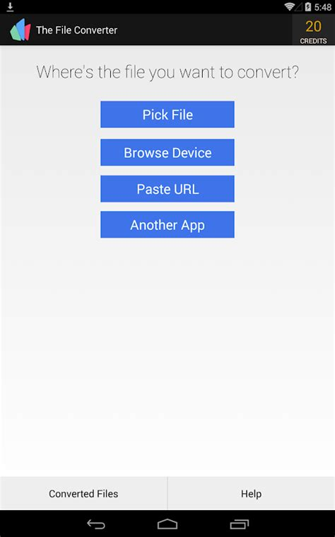 audio format converter google the file converter android apps on google play