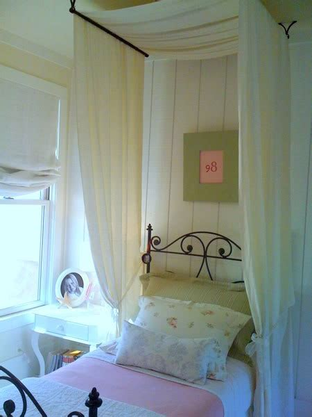 how to make a canopy with curtain rods 25 best ideas about curtain rod canopy on pinterest