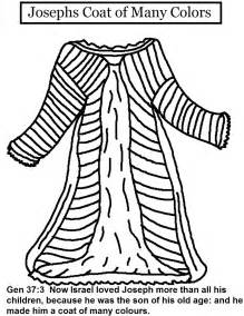 joseph coat of many colors josephs coat of many colors coloring pages