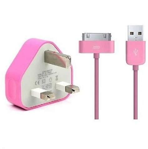 Usb Cable Colour Iphone4 4s 3g S 2 Ipod Touch 4 colour usb data sync lead cable mains charger for iphone 4 4s 3g 3gs ipod touch ebay