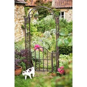 Garden Arch And Gate Uk Mackintosh Garden Arch With Gates