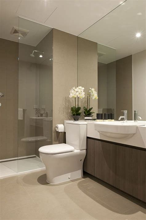 modern bathroom idea beautiful modern bathroom neutral interesting countertop