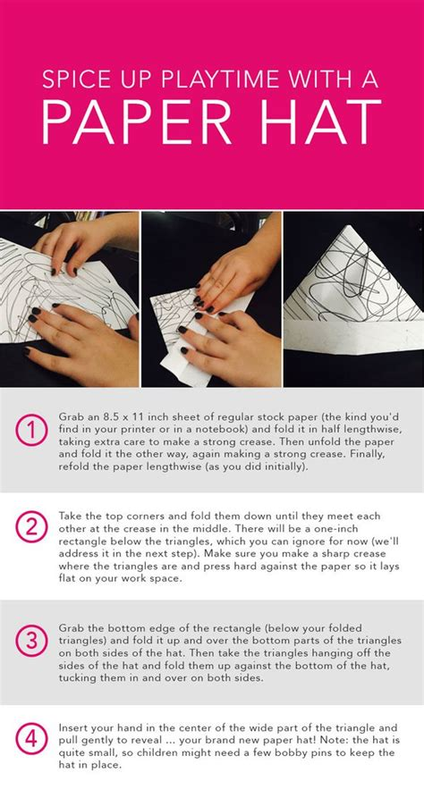 How Do You Make A Paper Hat - how do you make a paper hat 28 images how to make