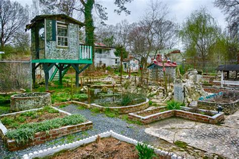 Howard Finster Paradise Gardens by The Vagabond Glovers Meanderings An Afternoon In Paradise