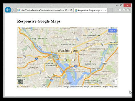 membuat link google map cara membuat google maps responsive teknohere com
