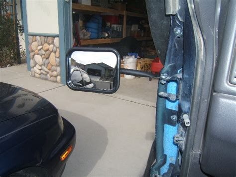 doorless jeep mirrors mirrors for going doorless jeepforum com