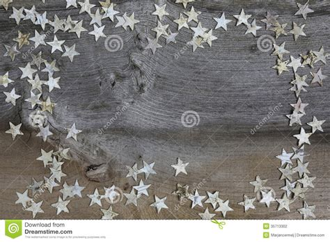 merry christmas decoration birch wood stars  rustic elm