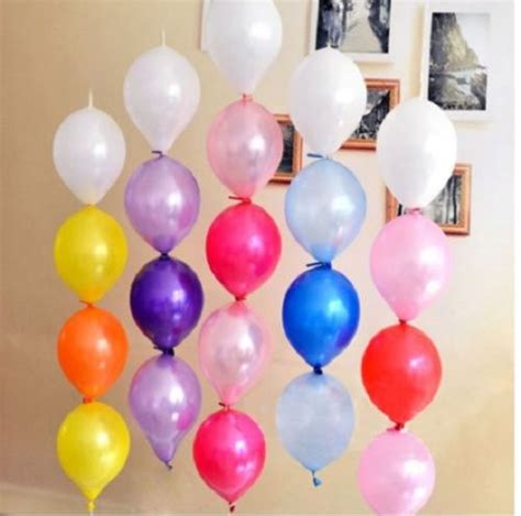 100pcs 10 link o loon linking link balloon arch wedding party balloons what s it worth