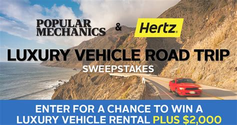 Popular Sweepstakes - popularmechanics com hertz popular mechanics hertz sweepstakes 2016
