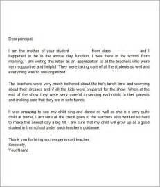 Appreciation Letter Writing Gratitude Letter Sample The Letter Sample