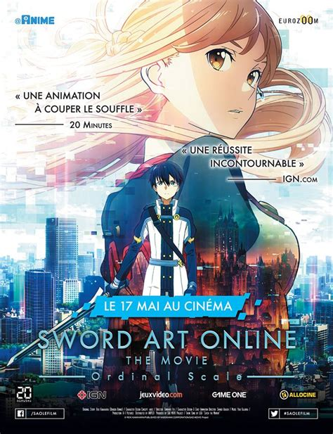 film anime vf sword art online film ordinal scale anime film