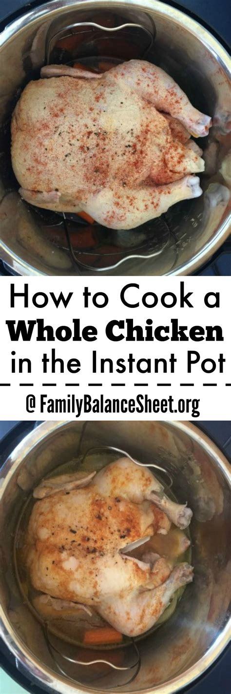 how to cook a whole chicken in the instant pot family balance sheet