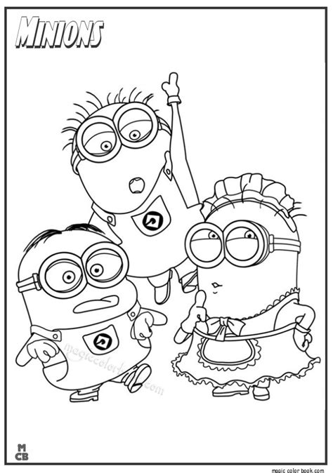 minions coloring pages birthday minions coloring pages 03