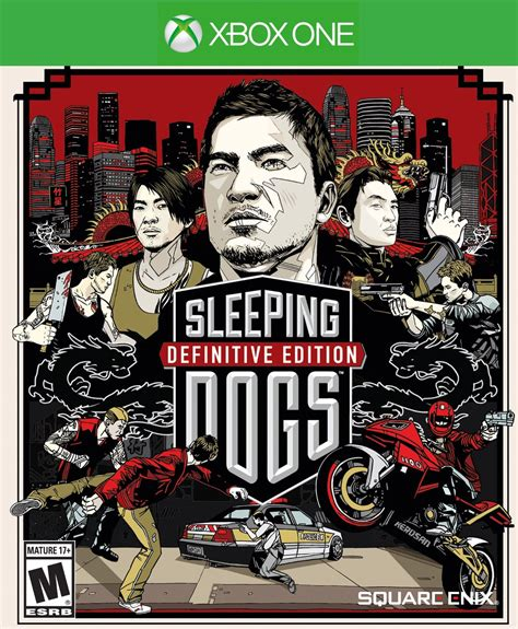 sleeping dogs xbox one sleeping dogs definitive edition listed by just push start