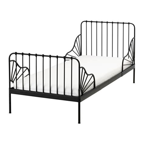 ikea minnen bed minnen ext bed frame with slatted bed base ikea