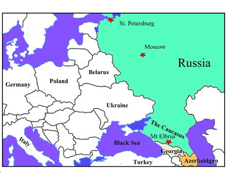 russia map 2 mountains flashcards by proprofs