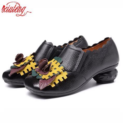 Xiuteng New 2017 Retro Handmade - xiuteng 2017 retro handmade floral shoes