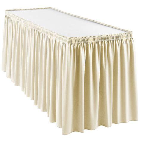 snap drape wyn1s17629 crm wyndham 17 5 ft table skirt