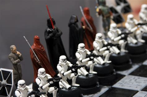 Best Chess Set by Star Wars Chess Set Empire Comic Con 08 In San Diego