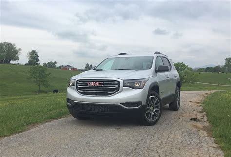 gmc acadia vs terrain can the all new 2017 gmc acadia capture even more