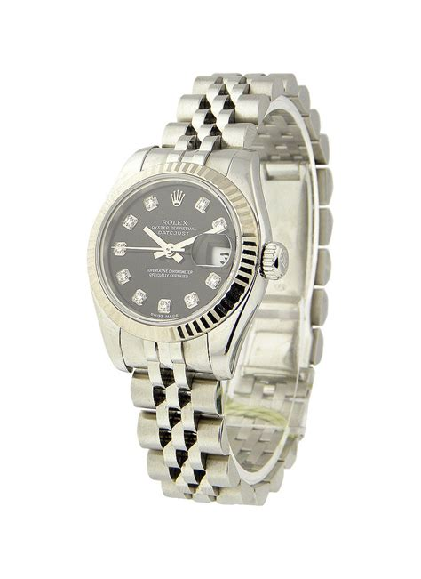 Rolex Date Just Wg For 179174 rolex datejust steel with jubilee wg fluted