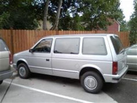 89 plymouth voyager 1989 plymouth voyager information and photos momentcar