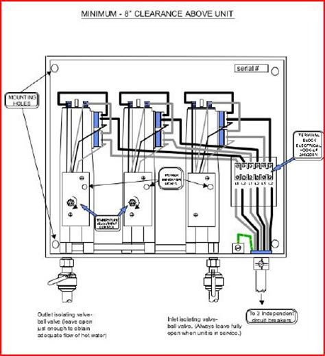 electric tankless water heater wiring diagrams wiring