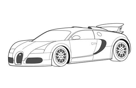 new car coloring page dibujos de bugatti veyron para colorear imagui
