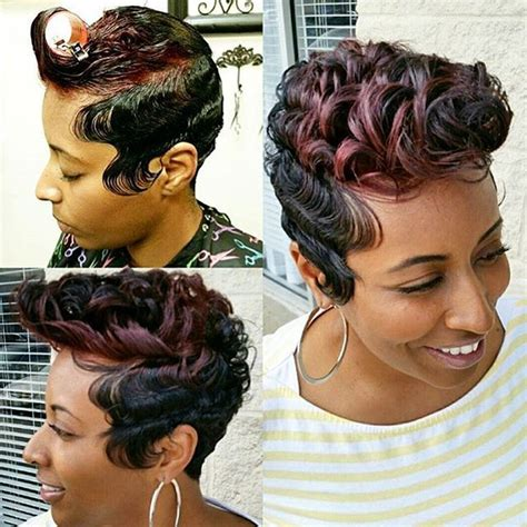 atlanta hair style wave up for black womens instagram post by voiceofhair stylists styles