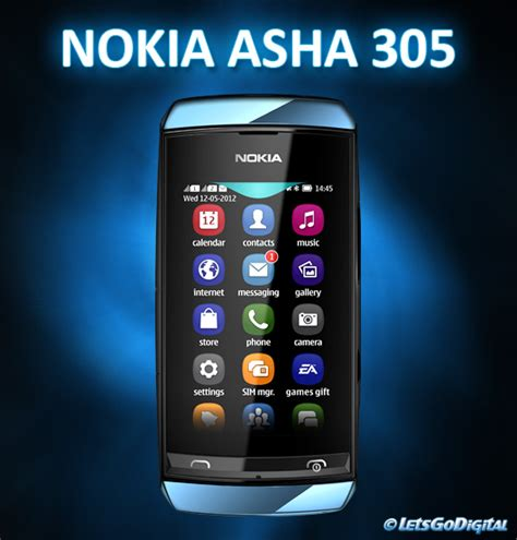 Hp Nokia Asha 305 Terbaru nokia asha 305 touch screen brand new condition clickbd