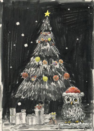 artists  tumblr merry christmas gif wifflegif