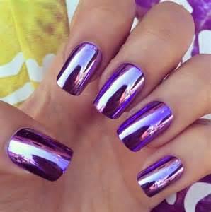 10 marvelous metallic nail designs