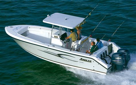 research angler boats 2600cc center console boat on iboats - Angler Fishing Boat