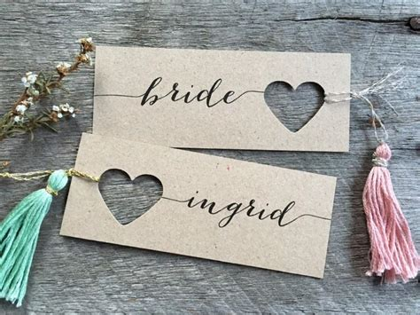 Wedding Name Tags by Wedding Place Cards Name Tags Tags