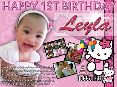 hello kitty themes for tarpaulin leyla s 1st birthday hello kitty design cebu balloons