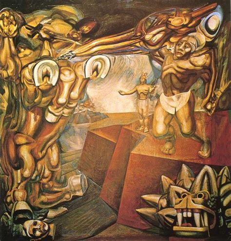 murales de david alfaro siqueiros cuauht 233 moc contra el mito david alfaro siqueiros
