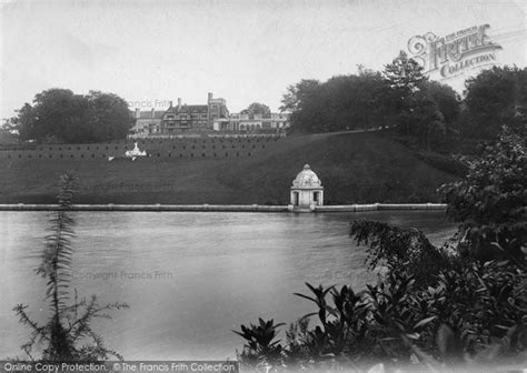 Witley park lake and terrace 1906 francis frith