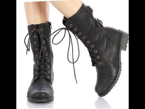 imagenes de botas rockeras para mujeres como combinar botas estilo militar youtube