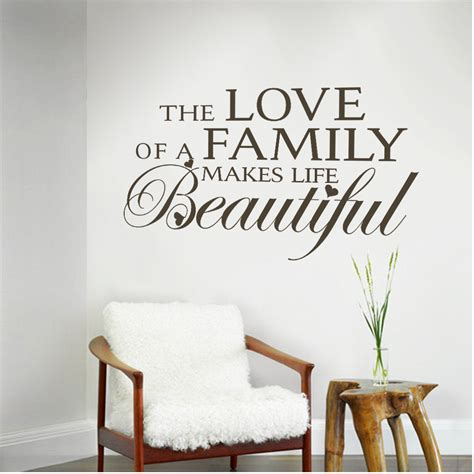 centering a lifetime of love on family the issaquah aliexpress com buy family quotes the love of a family