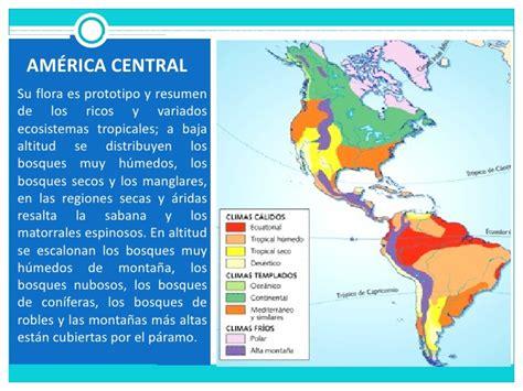 america mapa de climas clima vegetaci 243 n y fauna de am 233 rica