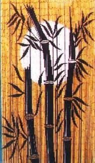 Bamboo Beaded Curtains For Doorways Bamboo Moon Beaded Doorways Windows Walls Door Background Bead Curtain Ebay